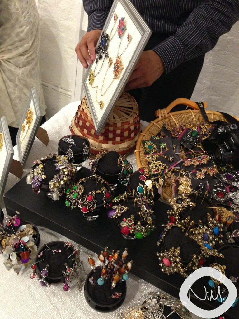 Hubby adding some finishing touches to ISLAMICGEMS display